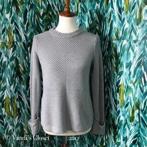 Philosophy Womens L Grey Sweater